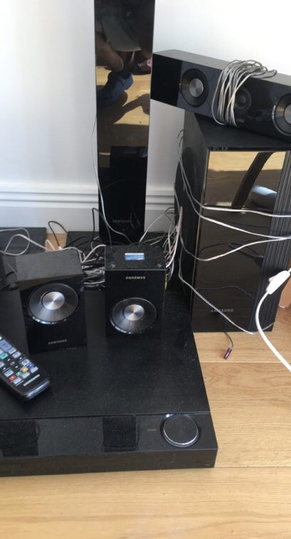 Surroundsystem – hemmabio, dvd