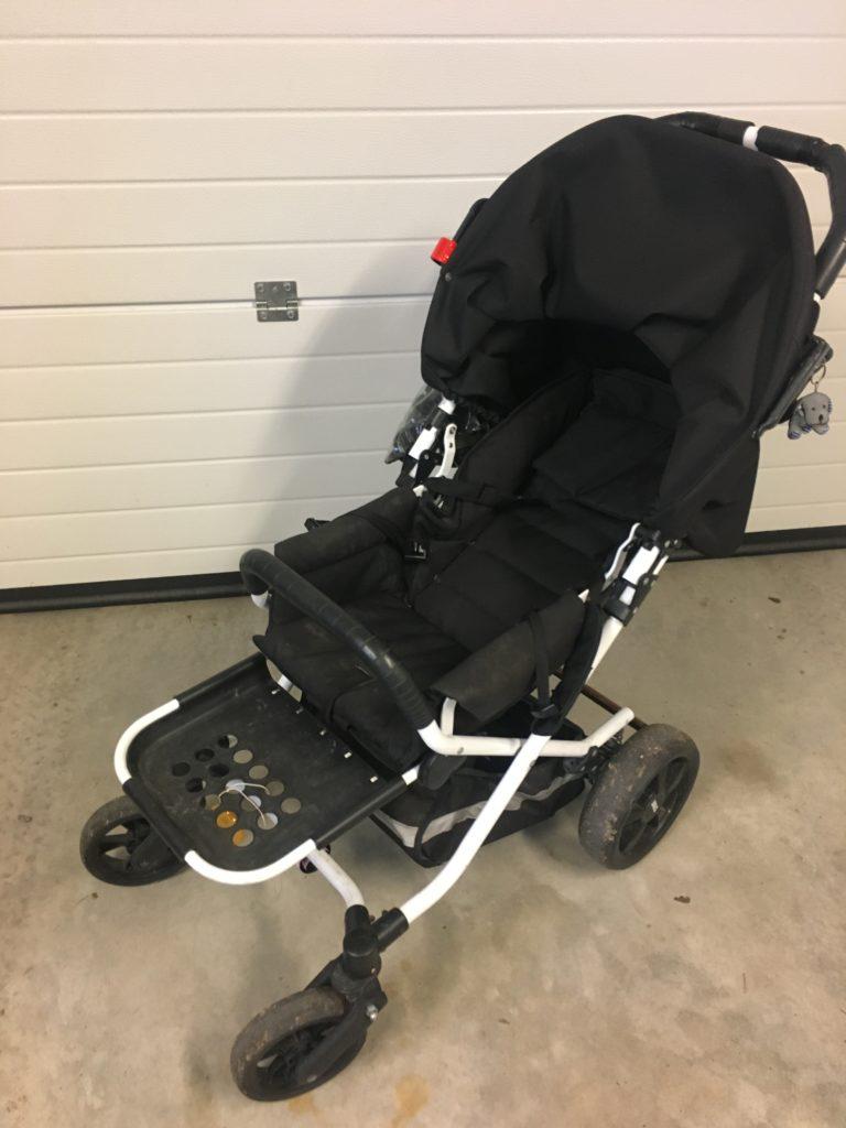 Brio Spin sittvagn, liggvagn
