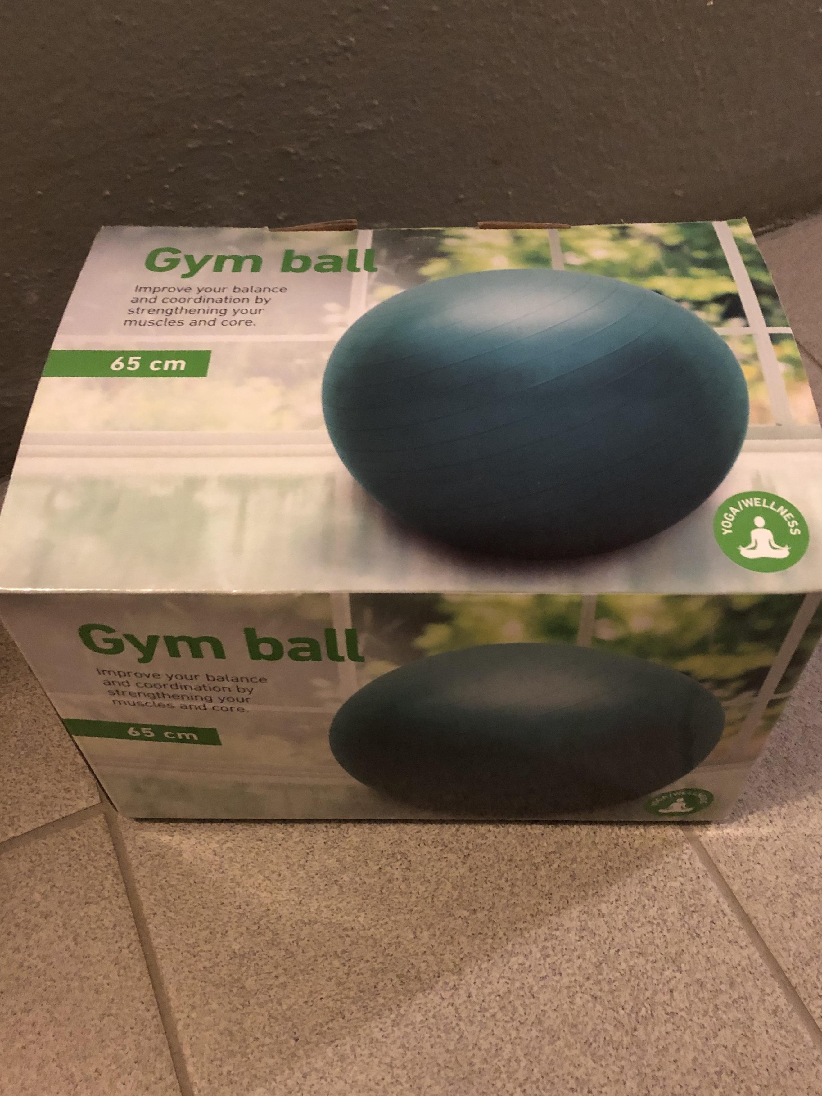 Gym boll