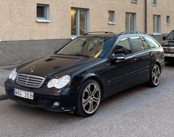 Mercedes-Benz C 180 T Kompressor Aut Brabus